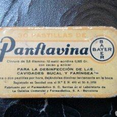 Cajas y cajitas metálicas: CAJA DE PASTILLAS PANFLAVINA. Lote 166179572