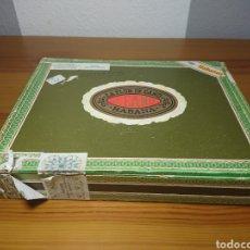 Cajas y cajitas metálicas: CAJA DE PUROS HABANOS LA FLOR DE CANO, VACÍA, ORIGINAL DE LA ÉPOCA DE LA HABANA. Lote 166269794