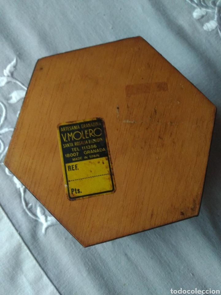 Cajas y cajitas metálicas: JOYERO ( ARTESANÍA DE GRANADA ANTIGUA ) CON INCRUSTACIONES. MÁS ARTÍCULOS ANTIGUOS EN MÍ PERFIL - Foto 2 - 166720686