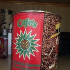 Cajas y cajitas metálicas: LATA CAFES LA ESTRELLA. Lote 166806002
