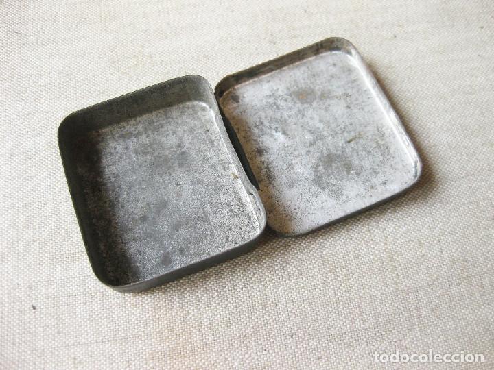 Cajas y cajitas metálicas: CAJA DE LATA LITOGRAFIADA DE AGUJAS DE GRAMÓFONO ALDRAGÓN. ESPECIALES PARA PICK-UP - Foto 3 - 166832522