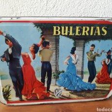 Cajas y cajitas metálicas: LATA MEMBRILLO SAN PASCUAL PUENTE GENIL BULERIAS. Lote 167119898