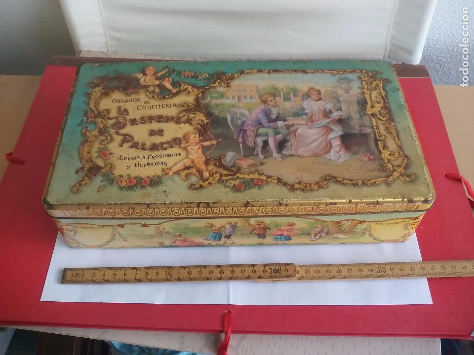 Preciosa Caja De Hojalata Obrador De Confiterí Comprar Cajas Antiguas Y Cajitas Metálicas En Todocoleccion 167704914