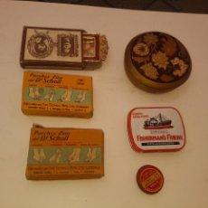 Cajas y cajitas metálicas: LOTE DE 6 CAJITAS. Lote 168052806