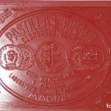 Cajas y cajitas metálicas: BONALD CAJITA PASTILLAS. Lote 168715400