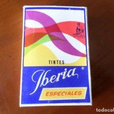 Cajas y cajitas metálicas: CAJA TINTES IBERIA. Lote 168948688