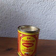 Cajas y cajitas metálicas: LATA 24 CUBITOS MAGGI AÑOS 80 90 CALDO CONSOME. Lote 169243500