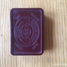 Cajas y cajitas metálicas: CAJA PASTILLAS BONALD ,BAQUELITA ROJA. Lote 169813548