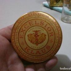 Cajas y cajitas metálicas: CAJA DE FARMACIA EXCELSIOR KLAUS MIDE 8X2. Lote 170108356