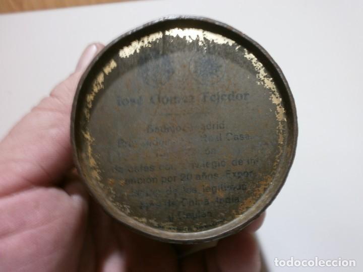 Cajas y cajitas metálicas: apreciada caja de chapa infusiones de te jose gomez tejedor mide 8x6,3 - Foto 3 - 170111436