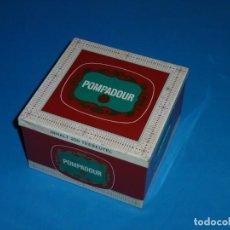 Cajas y cajitas metálicas: CAJA,LATA METALICA POMPADOUR. Lote 170573252