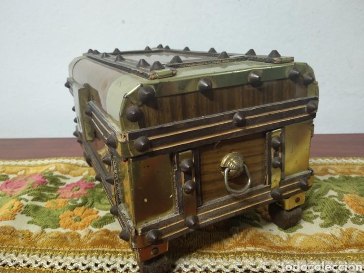 Cajas y cajitas metálicas: Pequeño baul - Foto 7 - 171076589