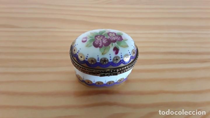 Cajas y cajitas metálicas: Cajita porcelana, pastillero - Foto 2 - 171178340