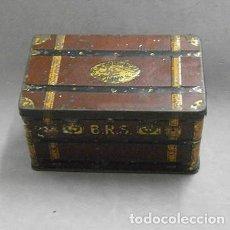 Cajas y cajitas metálicas: CAJA METALICA LATA DE ALMENDRAS SALINAS ALCALA DE HENARES - CAJAMETALICA-444. Lote 171412830