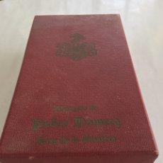 Casse e cassette metalliche: PEDRO DOMECQ ANTIGUA CAJA OBSEQUIO. Lote 171780598