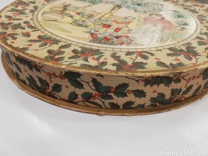 Cajas y cajitas metálicas: Caja de cartón decorado a mano por. V. botana - Foto 4 - 171816090