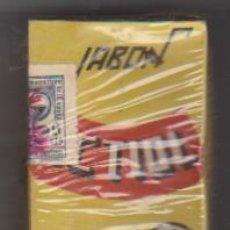 Cajas y cajitas metálicas: JABÓN ICTIOL. LABORATORIOS IM-BA. GRANADA. SI USAR. CONTIENE EL PRODUCTO. Lote 171985828