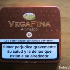Cajas y cajitas metálicas: LATA VEGAFINA- CAJA METALICA . Lote 171990603
