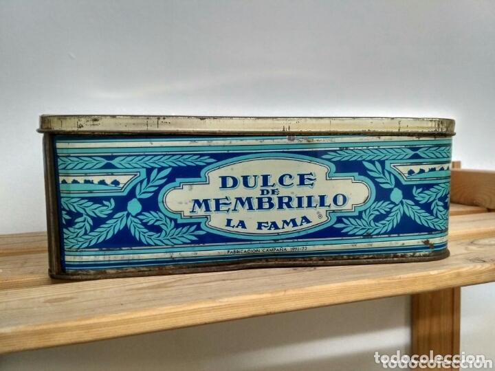 Cajas y cajitas metálicas: Caja metálica dulce y jalea de membrillo La Fama - Puente Genil - Foto 2 - 172140810