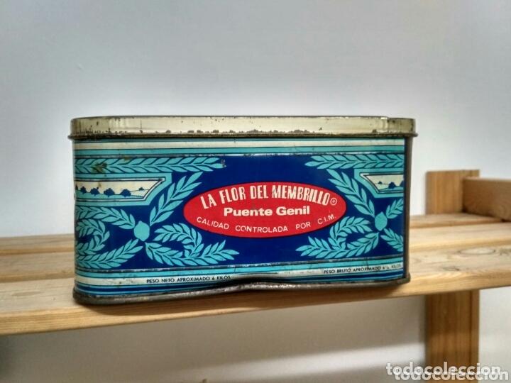 Cajas y cajitas metálicas: Caja metálica dulce y jalea de membrillo La Fama - Puente Genil - Foto 3 - 172140810