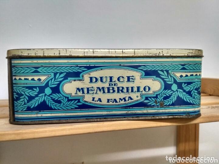 Cajas y cajitas metálicas: Caja metálica dulce y jalea de membrillo La Fama - Puente Genil - Foto 4 - 172140810