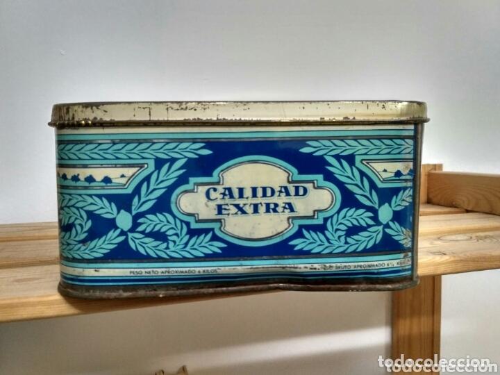 Cajas y cajitas metálicas: Caja metálica dulce y jalea de membrillo La Fama - Puente Genil - Foto 5 - 172140810