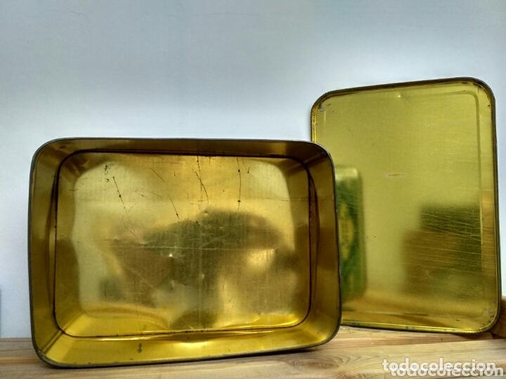 Cajas y cajitas metálicas: Caja metálica dulce y jalea de membrillo La Fama - Puente Genil - Foto 7 - 172140810
