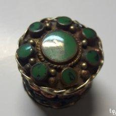 Cajas y cajitas metálicas: CAJITA PASTILLERO ANTIGUA. Lote 172790674