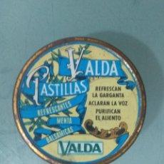 Cajas y cajitas metálicas: CAJA METALICA VALDA PASTILLAS. Lote 173027465