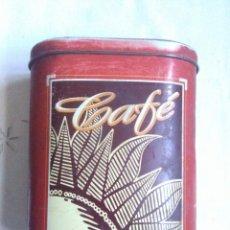 Cajas y cajitas metálicas: ANTIGUO BOTE LATA DE CAFE SOLEY BOTE DISEÑADO EN EXCLUSIVA PARA CAFE SOLEY (LO PONE EL EL BOTE). Lote 173394198