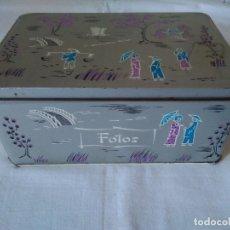 Cajas y cajitas metálicas: 138-ANTIGUA LATA DE COLACAO. Lote 173817638
