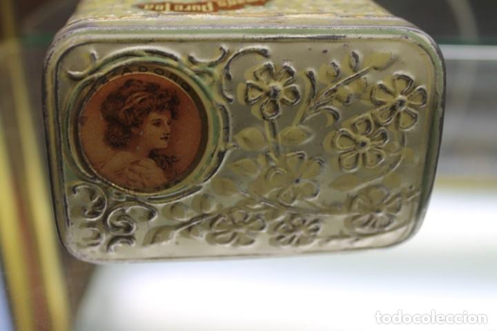 Cajas y cajitas metálicas: CAJA METALICA HORNIMANS PURE TEA, AÑOS 30-40 - Foto 2 - 173954439