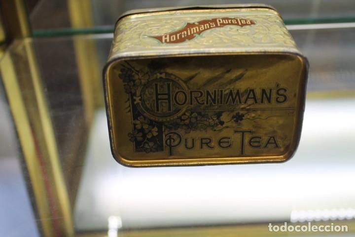 Cajas y cajitas metálicas: CAJA METALICA HORNIMANS PURE TEA, AÑOS 30-40 - Foto 3 - 173954439