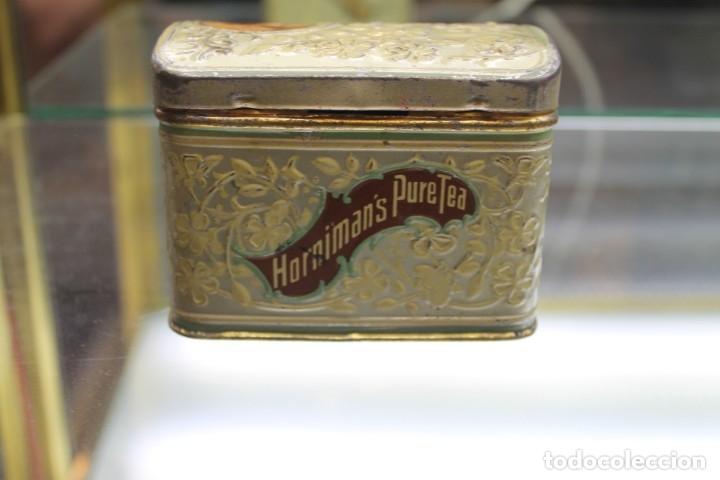 Cajas y cajitas metálicas: CAJA METALICA HORNIMANS PURE TEA, AÑOS 30-40 - Foto 4 - 173954439