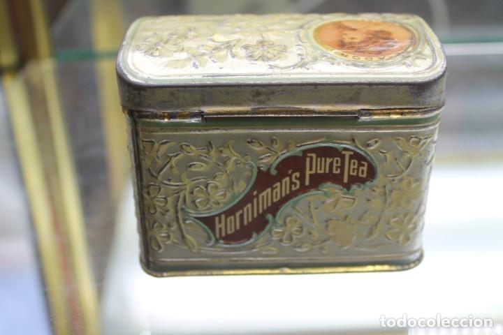 Cajas y cajitas metálicas: CAJA METALICA HORNIMANS PURE TEA, AÑOS 30-40 - Foto 6 - 173954439