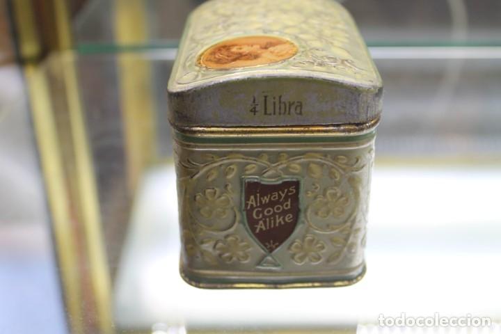 Cajas y cajitas metálicas: CAJA METALICA HORNIMANS PURE TEA, AÑOS 30-40 - Foto 7 - 173954439
