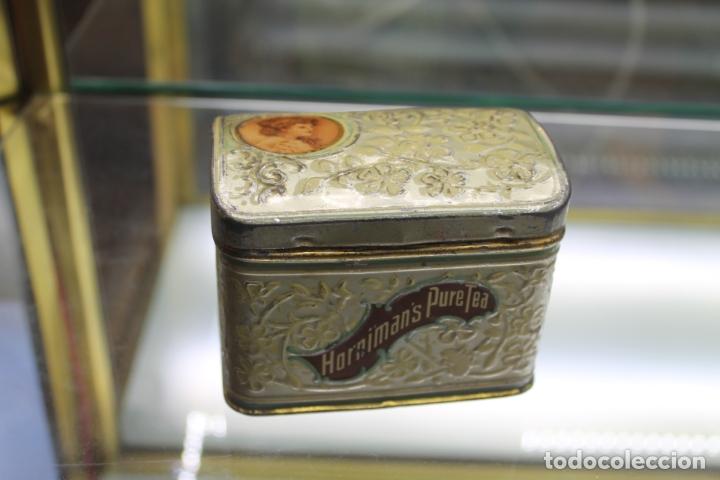 CAJA METALICA HORNIMAN'S PURE TEA, AÑOS 30-40 (Coleccionismo - Cajas y Cajitas Metálicas)