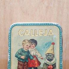 Cajas y cajitas metálicas: ESTUCHE O CAJA DE HOJALATA DE CALLEJA NÚMERO XIII. Lote 174039570
