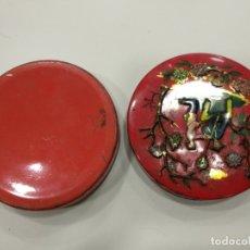 Cajas y cajitas metálicas: CAJITA METALICA CON MOTIVOS CHINOS. Lote 174329559