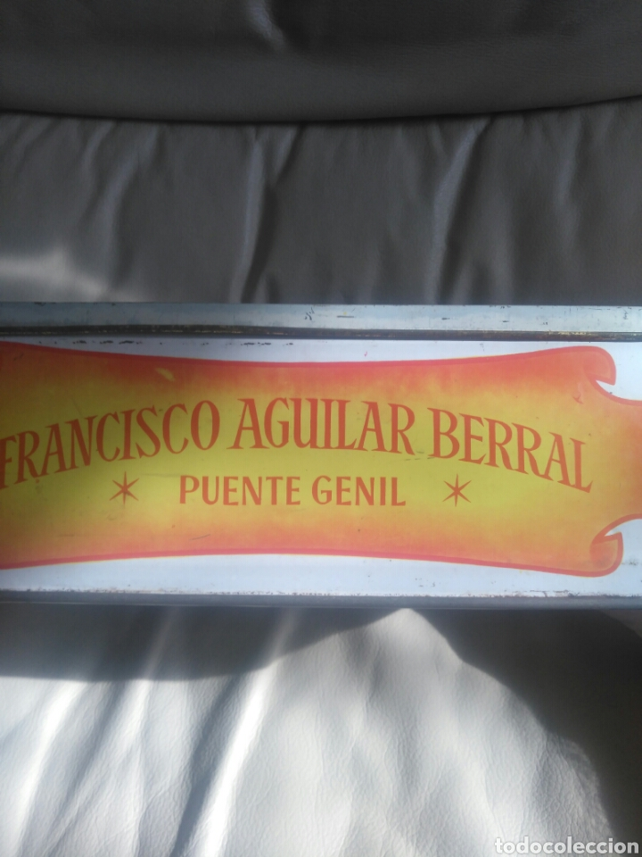 Cajas y cajitas metálicas: Antigua caja la Gondola. - Foto 4 - 174398180
