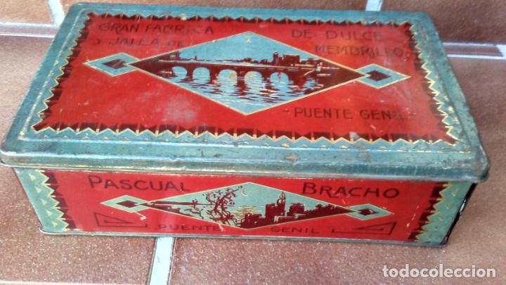 Cajas y cajitas metálicas: CAJA LATA DULCE/MEMBRILLO PUENTE GENIL - Foto 2 - 174512489