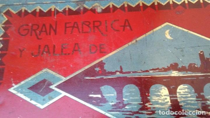 Cajas y cajitas metálicas: CAJA LATA DULCE/MEMBRILLO PUENTE GENIL - Foto 4 - 174512489