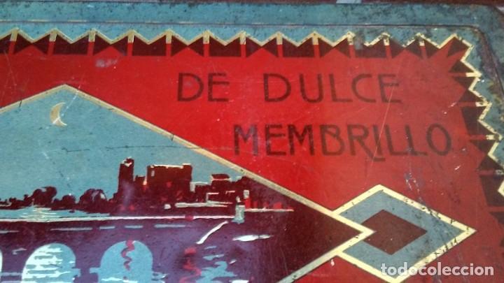 Cajas y cajitas metálicas: CAJA LATA DULCE/MEMBRILLO PUENTE GENIL - Foto 5 - 174512489
