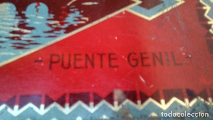 Cajas y cajitas metálicas: CAJA LATA DULCE/MEMBRILLO PUENTE GENIL - Foto 6 - 174512489