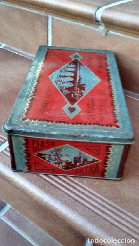 Cajas y cajitas metálicas: CAJA LATA DULCE/MEMBRILLO PUENTE GENIL - Foto 7 - 174512489