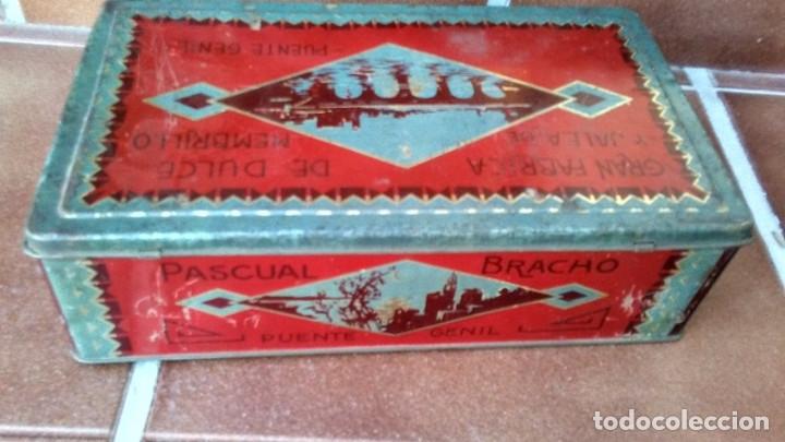 Cajas y cajitas metálicas: CAJA LATA DULCE/MEMBRILLO PUENTE GENIL - Foto 8 - 174512489