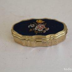 Cajas y cajitas metálicas: CAJITA PASTILLERO METAL. Lote 175737505