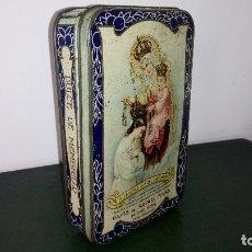 Cajas y cajitas metálicas: CAJA DULCE DE MEMBRILLO: RAFAEL RIVAS. Lote 176003894