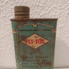 Cajas y cajitas metálicas: LATA FLY-TOX. Lote 176371878