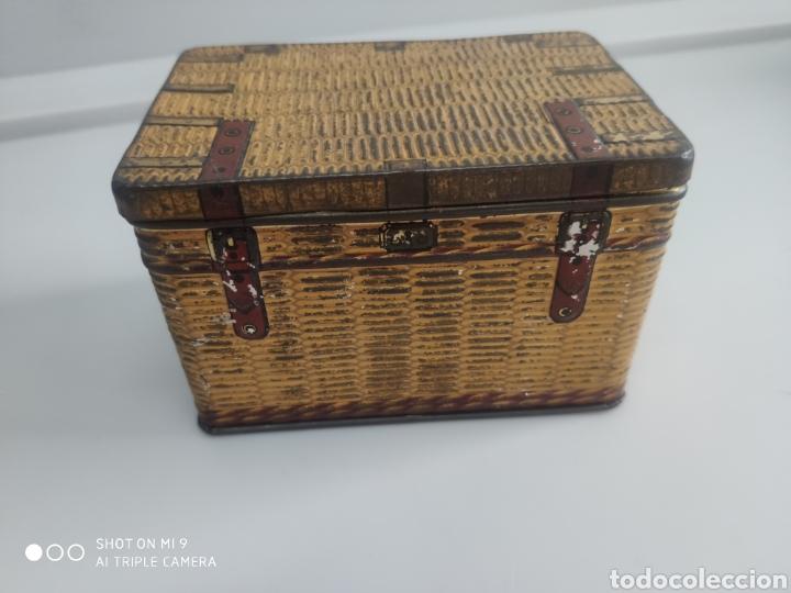 Cajas y cajitas metálicas: Caja metal baúl - Foto 2 - 176541885